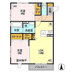 (仮)D-room元総社町 B