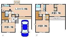 [タウンハウス] 兵庫県神戸市須磨区大手町3丁目 の賃貸【/】の間取り