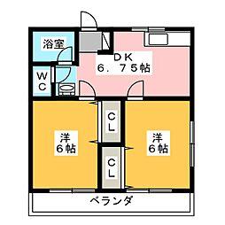 スピカ[2階]の間取り