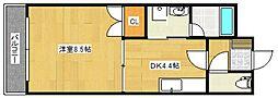 サクセス75[6階]の間取り