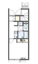 レオネクスト岩澤(51601-103) 1階1Kの間取り