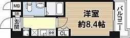 フローライト日本橋駅前[8階]の間取り