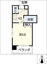 ハーモニアス高蔵寺[6階]の間取り