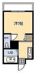 リベットハウス[109号室]の間取り