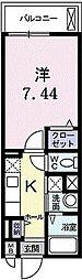 シラトポス[    302号室]の間取り