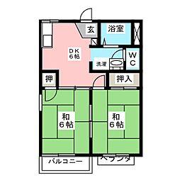 メゾン飛高[2階]の間取り
