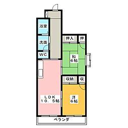 杉山ビル[2階]の間取り