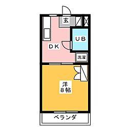 グリーンライフ[3階]の間取り