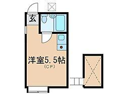 アバ・ハウス[2階]の間取り