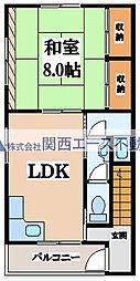 中本5丁目ビル[3階]の間取り
