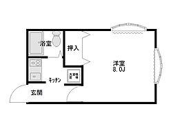 ヴェルディOGASAWARA[2階]の間取り