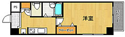 サンテミリオン新中野[4階]の間取り