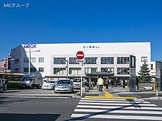 東武伊勢崎・大師線「竹ノ塚」駅 距離1280m