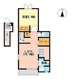 エターナル Ⅱ[2階]の間取り