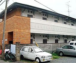 京都府京都市北区上賀茂中ノ坂町の賃貸アパートの外観