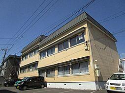 北海道札幌市東区北四十三条東8丁目の賃貸アパートの外観