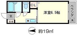 メゾンド楓光[1階]の間取り