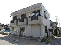 埼玉県上尾市柏座2丁目の賃貸アパートの外観