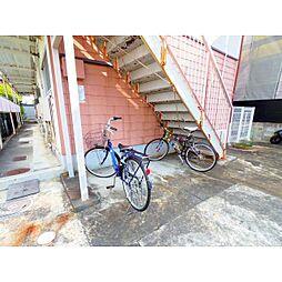 静岡県静岡市葵区上足洗の賃貸アパートの外観