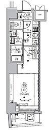 東京メトロ南北線 東大前駅 徒歩2分の賃貸マンション 4階1Kの間取り