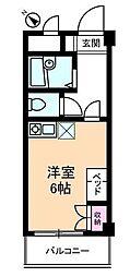 神奈川県横浜市金沢区平潟町の賃貸マンションの間取り