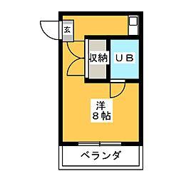 アイビーハイツ[2階]の間取り