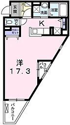 リバーサイドヴィレッジII[2階]の間取り