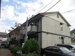 大阪府柏原市大字安堂の賃貸アパートの外観