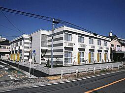 東京都三鷹市新川6丁目の賃貸アパートの外観