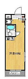 神奈川県横浜市都筑区仲町台1丁目の賃貸マンションの間取り