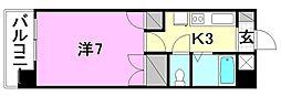 メゾン中村5[102 号室号室]の間取り