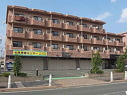 静岡県袋井市愛野の賃貸マンションの外観