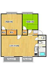 ソフィアマンション[3階]の間取り