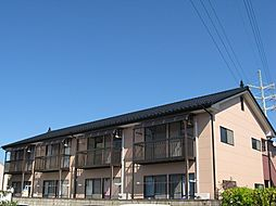 栃木県宇都宮市西川田本町2丁目の賃貸アパートの外観