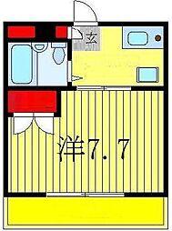 メゾン・ド・ココット[2階]の間取り