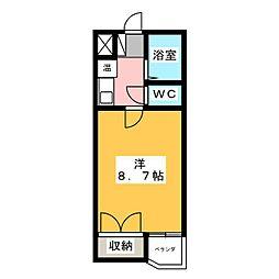 寛永ハイツ[3階]の間取り