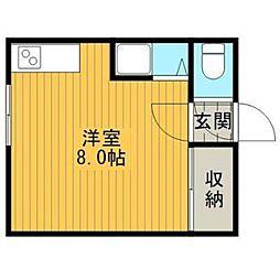 ラピュタ文京台[1階]の間取り