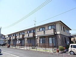 埼玉県入間郡毛呂山町岩井西2丁目の賃貸アパートの外観