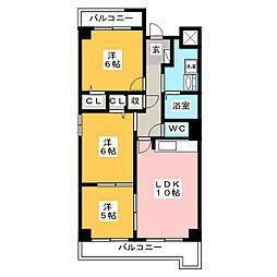 コモドパラッツォ[3階]の間取り