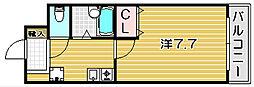 ノールジャルダン[3階]の間取り