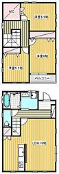 [一戸建] 神奈川県藤沢市鵠沼神明3丁目 の賃貸【神奈川県 / 藤沢市】の間取り