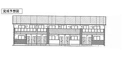 徳島県徳島市国府町南岩延の賃貸アパートの外観