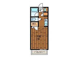 コーストハウス[2階]の間取り