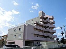 滋賀県高島市新旭町旭2丁目の賃貸マンションの外観
