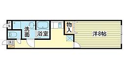 MISTRAL飾磨駅前[503号室]の間取り