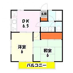 第三ニューコーポ金井[205号室]の間取り