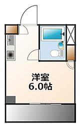 LL甲子園ビル[3階]の間取り