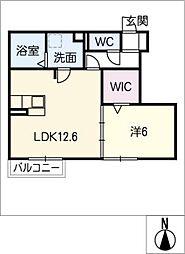 仮)D−room出川町[1階]の間取り
