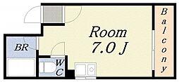 ゼブラ[2階]の間取り