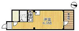 兵庫県神戸市兵庫区永沢町4丁目の賃貸マンションの間取り